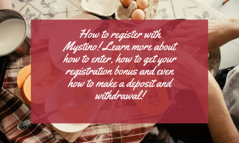 How to register with Mystino! Learn more about how to enter, how to get your registration bonus and even how to make a deposit and withdrawal!